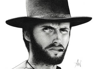 Clint Eastwood - Portrait