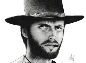 Clint Eastwood - Portrait