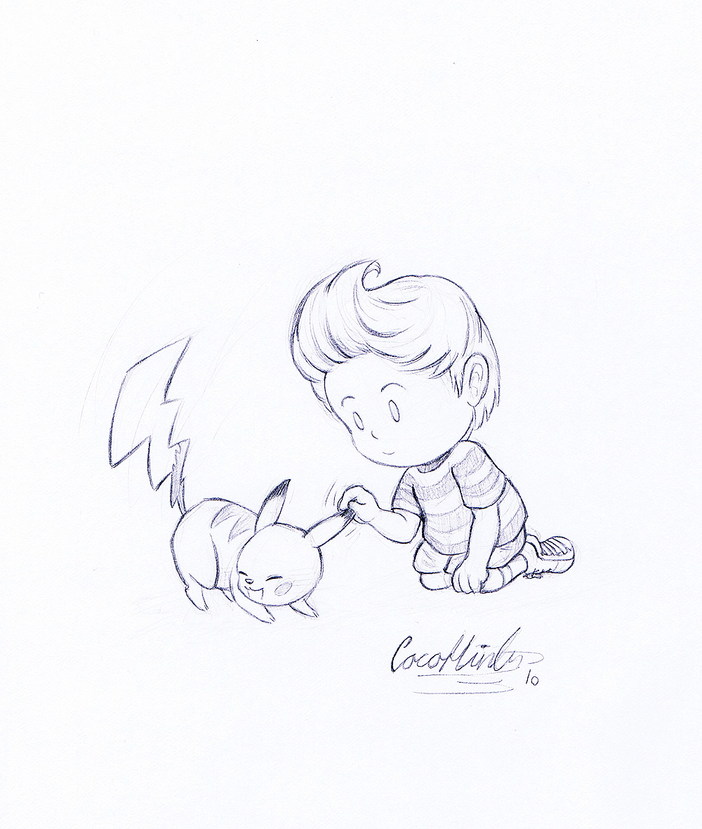 Line Art Mouse : Ssbb boy and mouse lineart by cocohints on deviantart