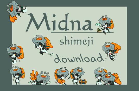 Midna Shimeji download