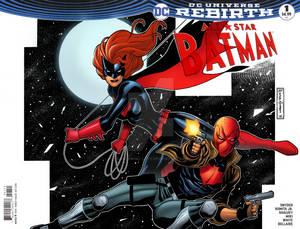 Batwoman  Red Hood blank cover sketch rafgumboc