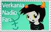 Verkania Nadio Stamp by Captor-Variety-Girl