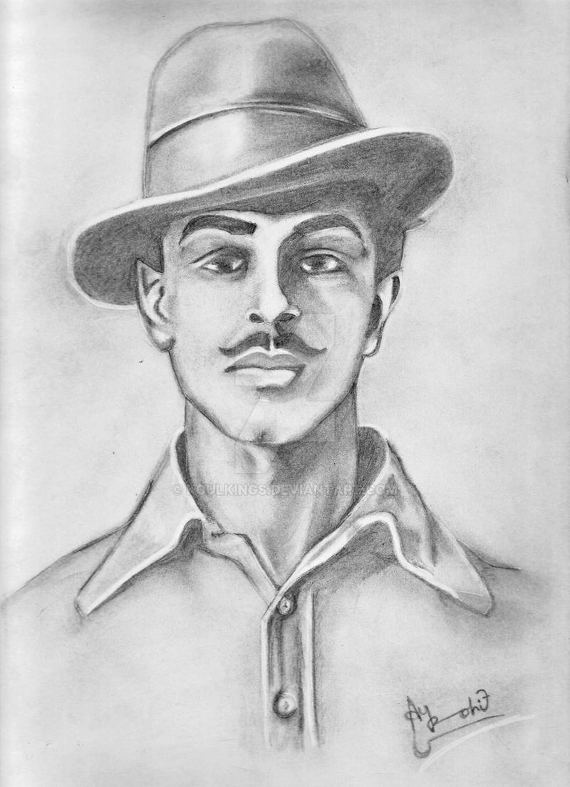 bhagat singh sketch wallpaper - photo #4