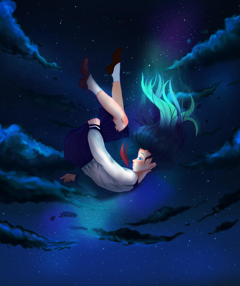 Falling by mewtamara