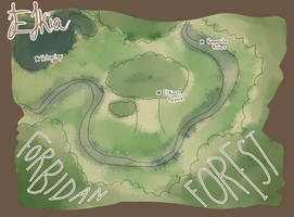 Map of Elkia by sidgreen01