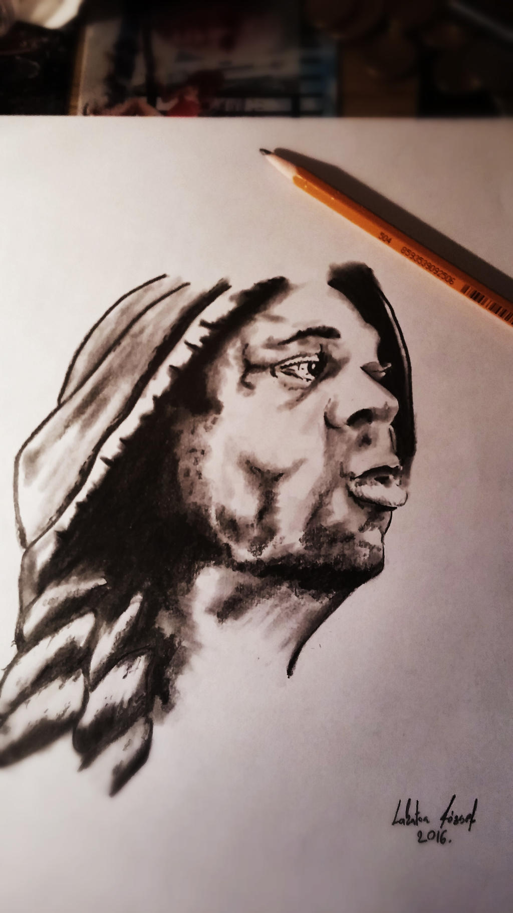 Kai greene by lakatos jozsef on deviantart for Kai greene painting