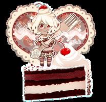 Black Forest Cake by ScarletDestiney