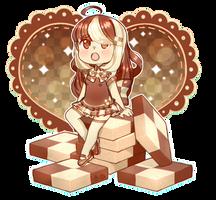 Checkerboard Cookie by ScarletDestiney