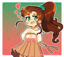 Mako-chan's Speciality by ScarletDestiney