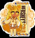 Hershey Kuma: Caramel Creme Gold