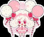 Pink Velvet Cake Pop