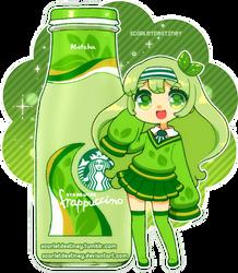Starbucks Sorority: Matcha Frappuccino