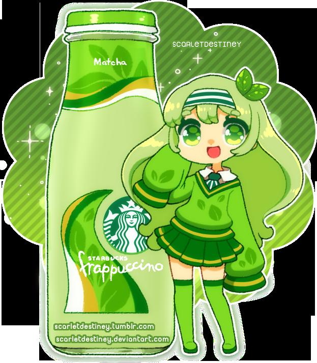 Starbucks Sorority Matcha Frappuccino By Scarletdestiney On