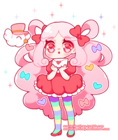 Cotton Candy Cookie by ScarletDestiney