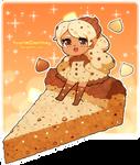 Triple Choco Chip Cookie Cake
