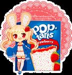 Poptart Bun-Buns: Frosted Strawberry