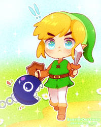 Smol Link by ScarletDestiney