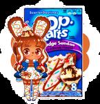Poptart Bun-Buns: Hot Fudge Sundae by ScarletDestiney