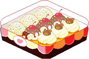 Kawaii Kakery Cupcake Box