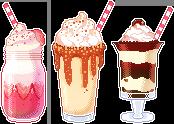 Yummy Milkshakes
