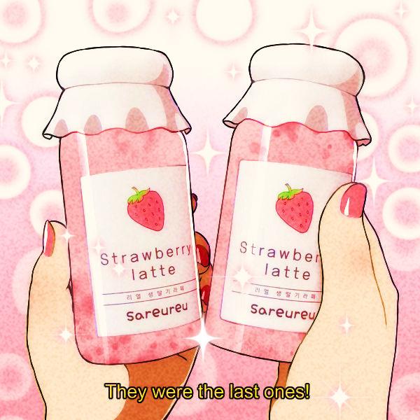Strawberry Latte