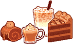 Cafe Choco Section