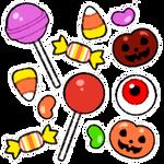 Petit Halloween Candy Batch by ScarletDestiney