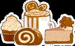 Comfy Petit Gingerbread Set