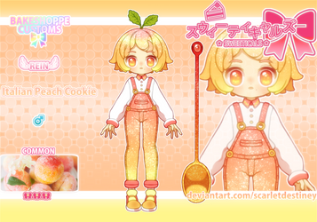 Sweeticals BS: Italian Peach Cookie