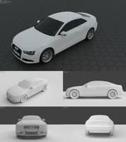 Audi A5 Coupe (Blender 3D)