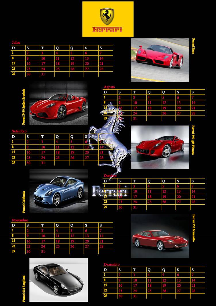 Calendario Indesign.Calendario Ferrari No Indesign 2 By Carledu On Deviantart