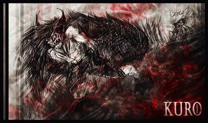Kuro's Rage by GREYFLESH