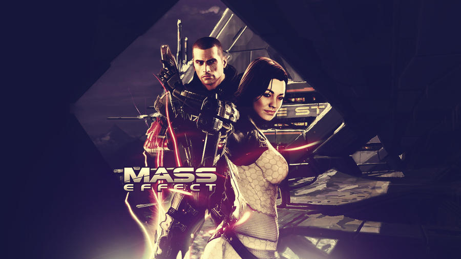 Mass Effect Wallpaper by paha13