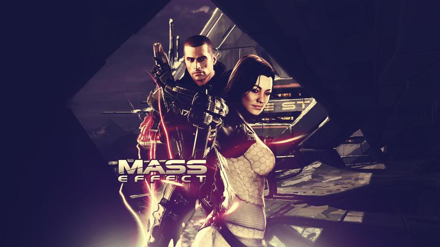 Mass Effect Wallpaper by paha13