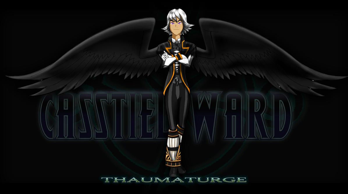 Casstiel Ward - Thaumaturge  by Dragon-NeX