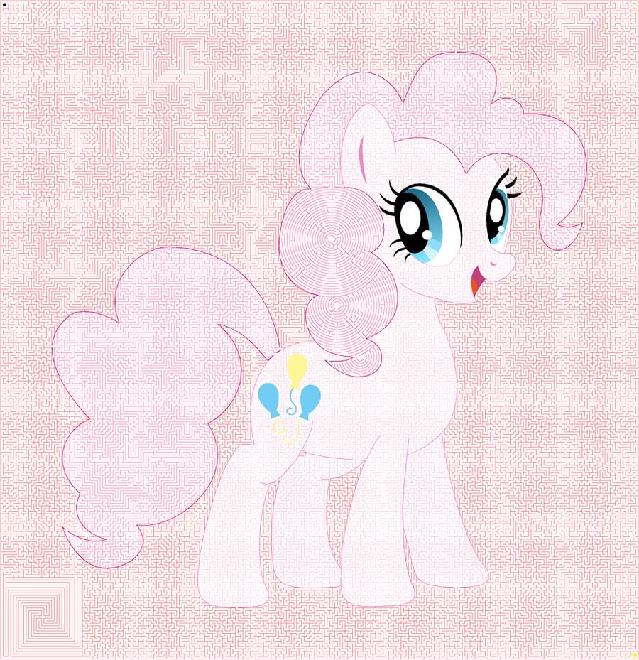 Pinkie Pie Maze by xiestman