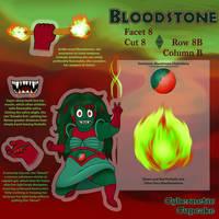 SU Gem OC Reference - Bloodstone