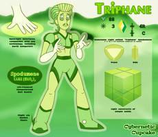 SU Gem OC Reference - Triphane