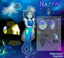 SU Gem OC Reference - Nacre