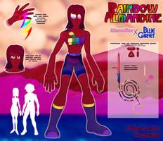 SU Fusion OC Reference - Rainbow Almandine