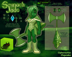 SU Gem OC Reference - Spinach Jade