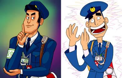 Ace Attorney - Meekins Diptych