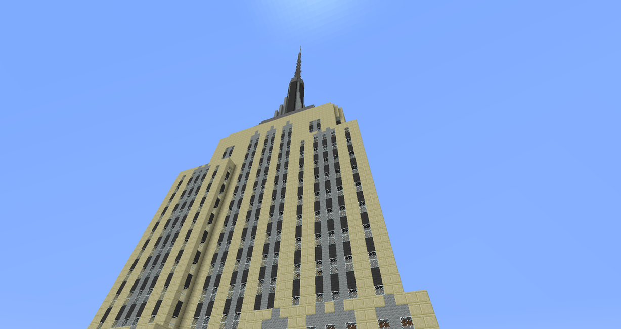 Empire State Building (Minecraft) by EricMPetroff on ...