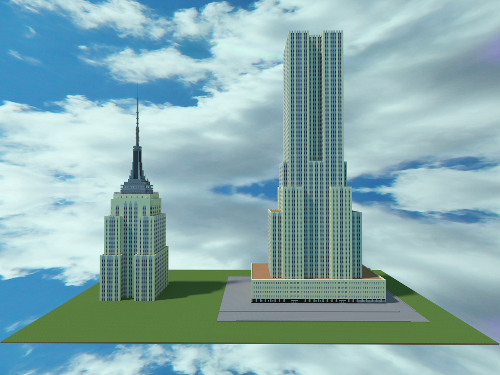 Empire State Building Minecraft Pe