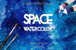 20 Watercolor Space Textures