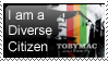 Diverse Citizen Stamp by SRSC-kenny