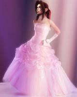 Aeris's wedding dress by AshleyGunville