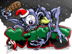 MERRY X-MAS wallpaper by CRAZYGRAFIX
