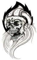 warrior from hell by CRAZYGRAFIX