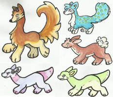 More Offer To Adopts! (1 Left!) by HobbaGobwin